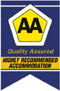 AA Highly Recommended Accommodation Certification